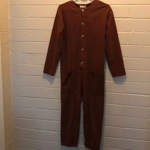 Jumpsuit rust
